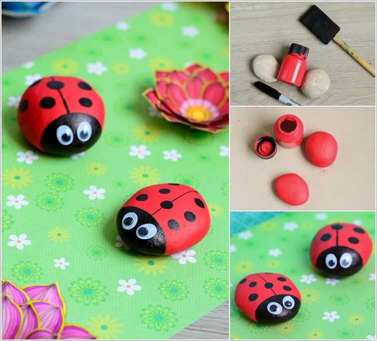 10 Cute and Creative Projects to Make from Rocks 3