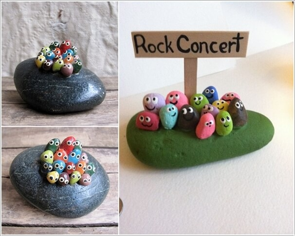 10 Cute and Creative Projects to Make from Rocks 7