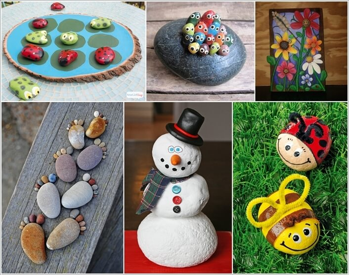 10 Cute and Creative Projects to Make from Rocks a
