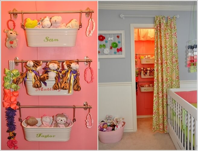 Ordinaire 10 Cute Nursery Toy Storage Ideas You Will Admire 10