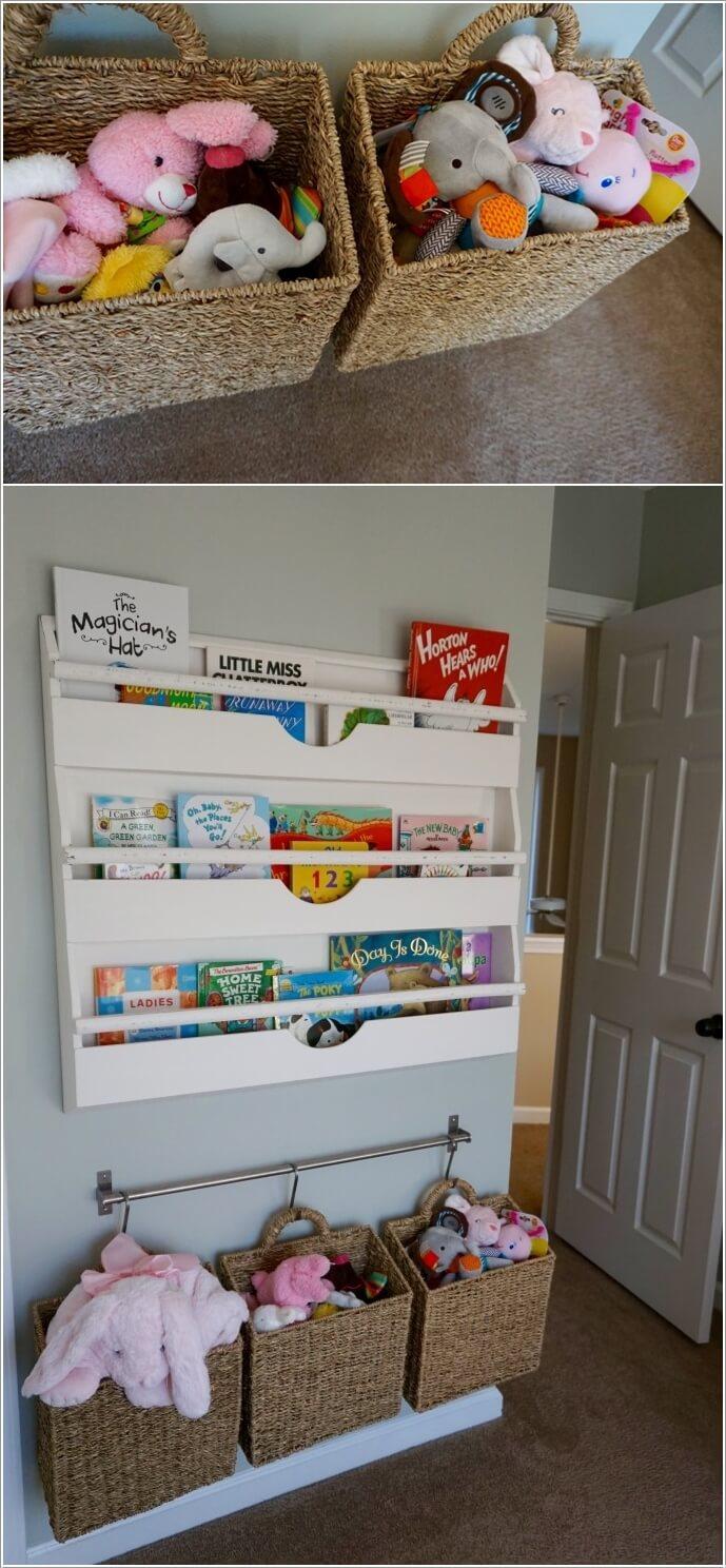 10 Cute Nursery Toy Storage Ideas You Will Admire 3