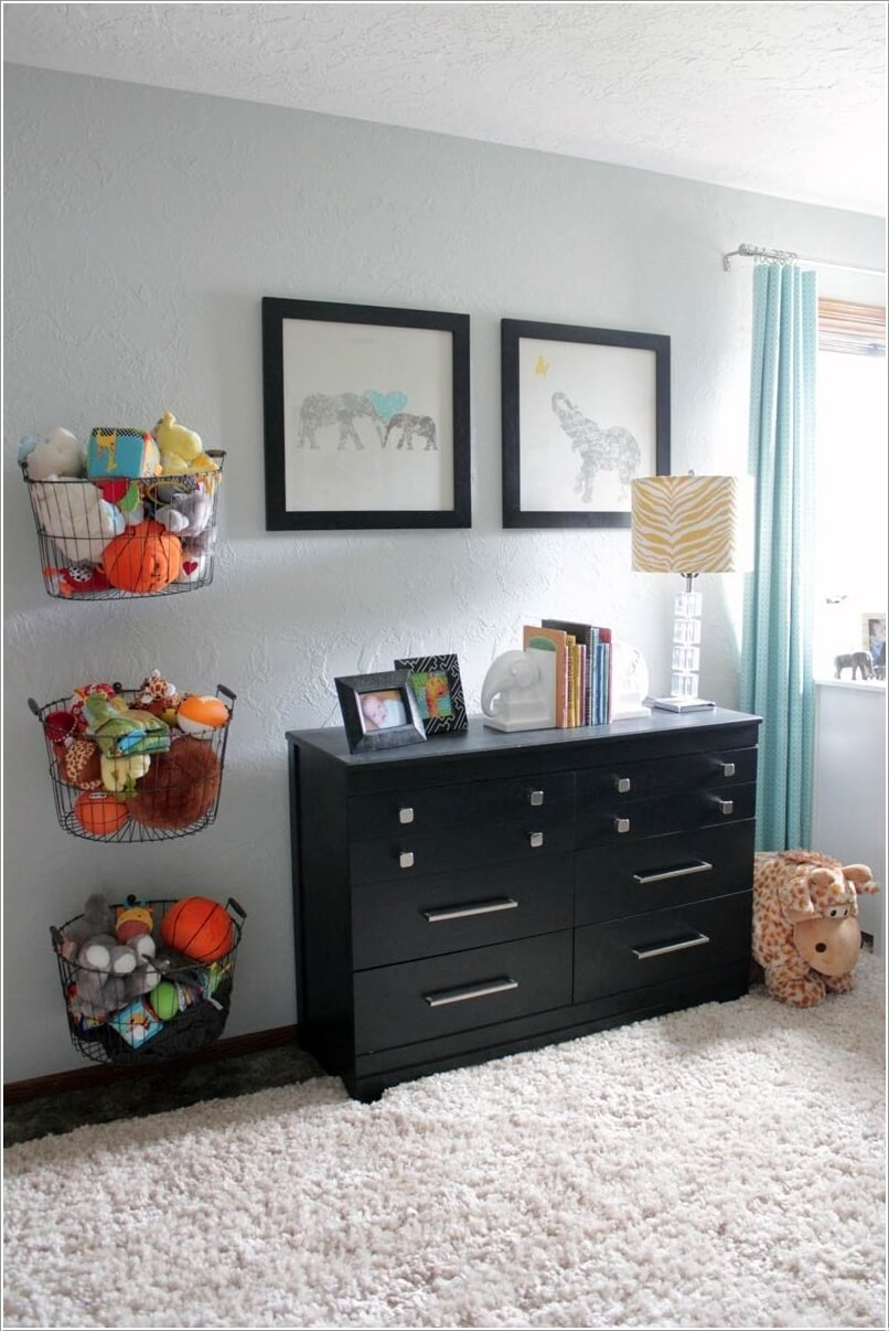 10 Cute Nursery Toy Storage Ideas You Will Admire