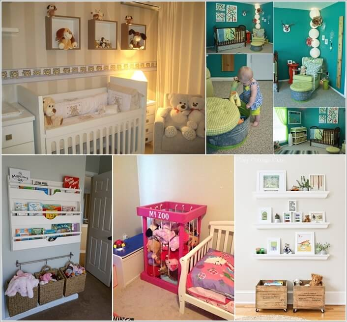 10 cute nursery toy storage ideas you will admire - Cute Nursery Ideas