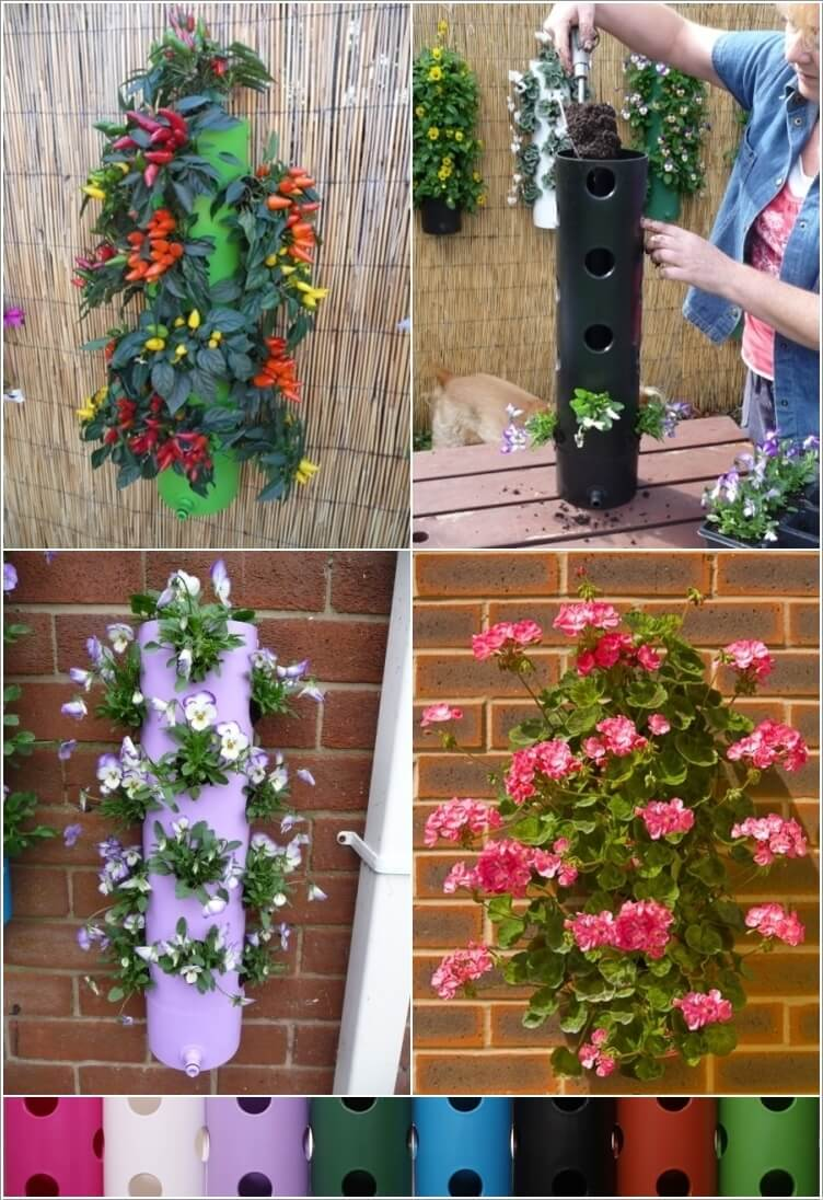 10 Lovely Vertical Planter Ideas For Small Spaces 1
