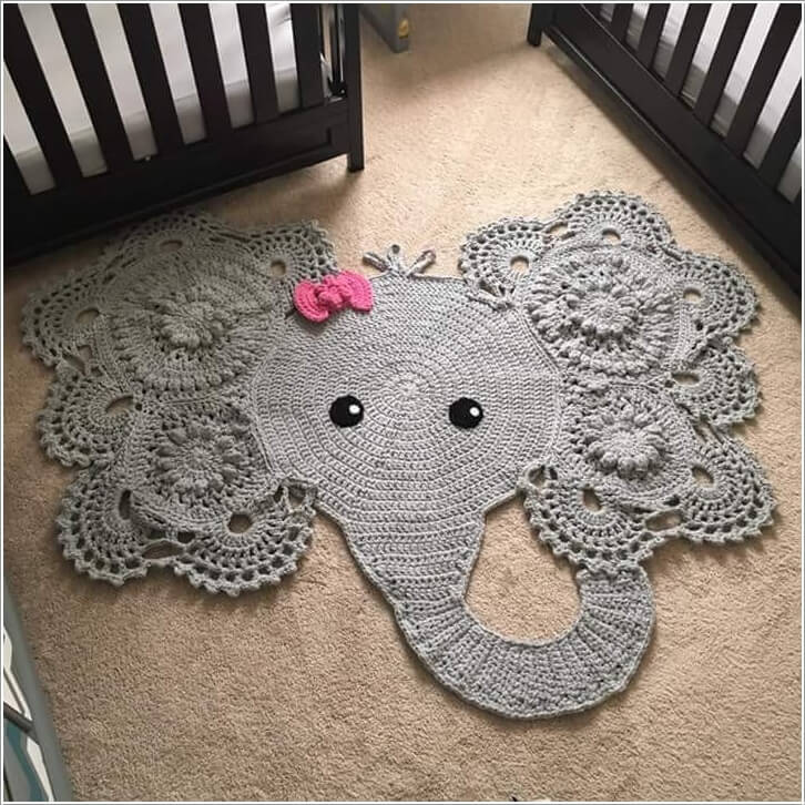 10 Super Cute Ideas to Decorate Your Kids' Room with Crochet 1