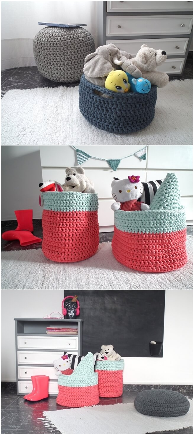 10 Super Cute Ideas to Decorate Your Kids' Room with Crochet 10