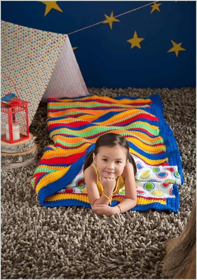 10 Super Cute Ideas to Decorate Your Kids' Room with Crochet 4