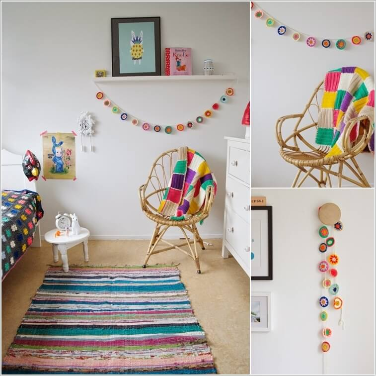 Decorate Your Room Ideas: 10 Super Cute Ideas To Decorate Your Kids' Room With Crochet