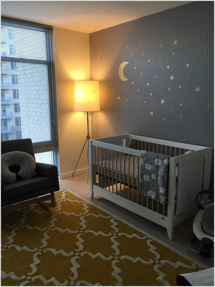 10 Super Cute Moon Inspired Nursery Decor Ideas 5