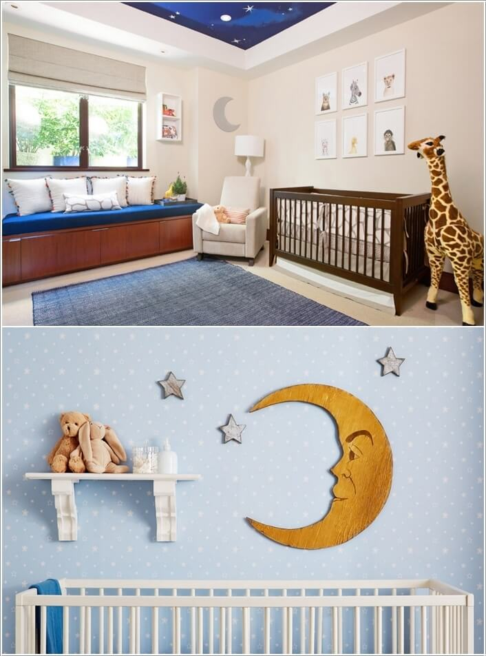 10 Super Cute Moon Inspired Nursery Decor Ideas 6