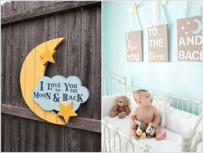 10 Super Cute Moon Inspired Nursery Decor Ideas 9
