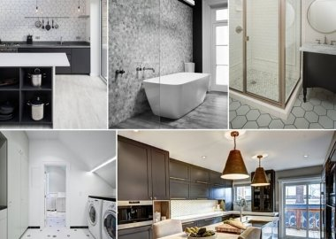 10 Terrific Ways to Use Hexagon Tiles in Your Home fi