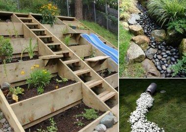 10 Wonderful Ideas to Design a Sloped Yard fi