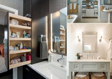 13 Storage Ideas for Your Bathroom That are Design-Friendly fi