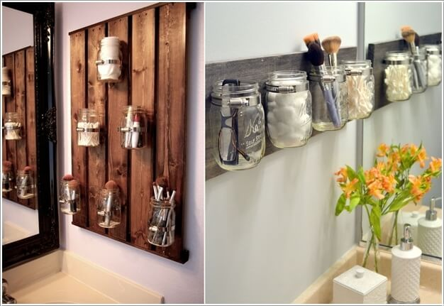 15 Clever Upcycled Bathroom Storage Projects 1