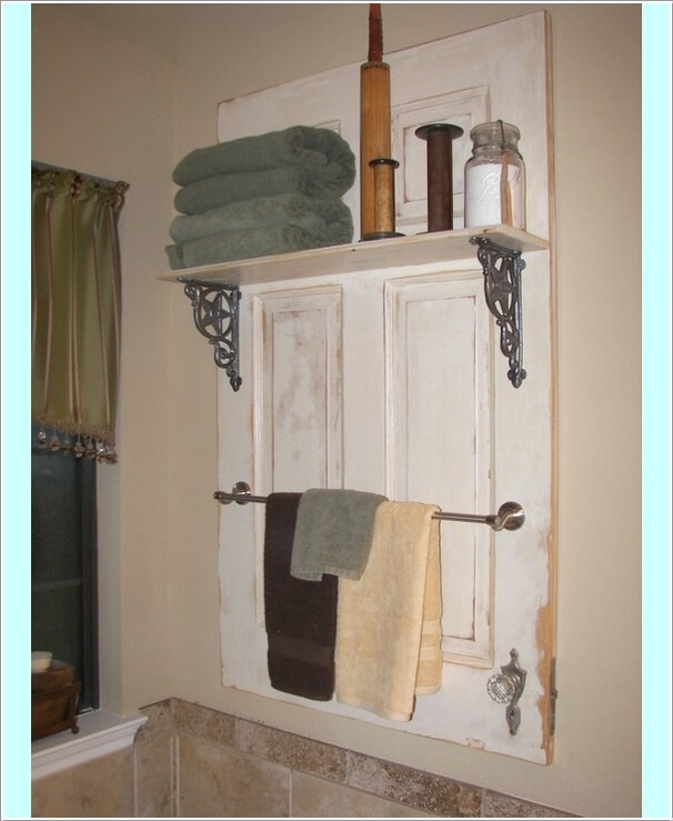 15 Clever Upcycled Bathroom Storage Projects 10