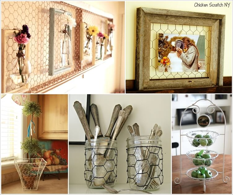 15 Creative Projects Made with Chicken Wire 1
