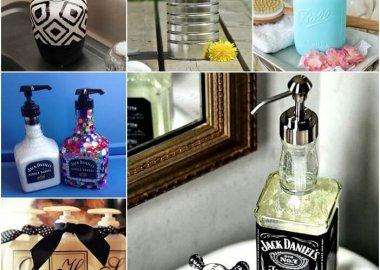 15 DIY Soap Dispenser Ideas for Your Bathroom fi