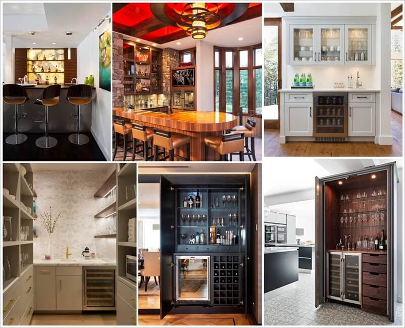 15 Spectacular Home Bars That Will Leave You Inspired 1