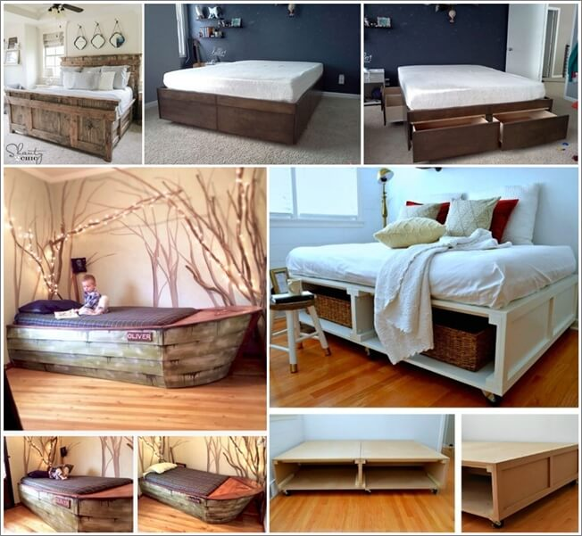 21 chic diy bed frame projects for your home - Diy Bed Frame
