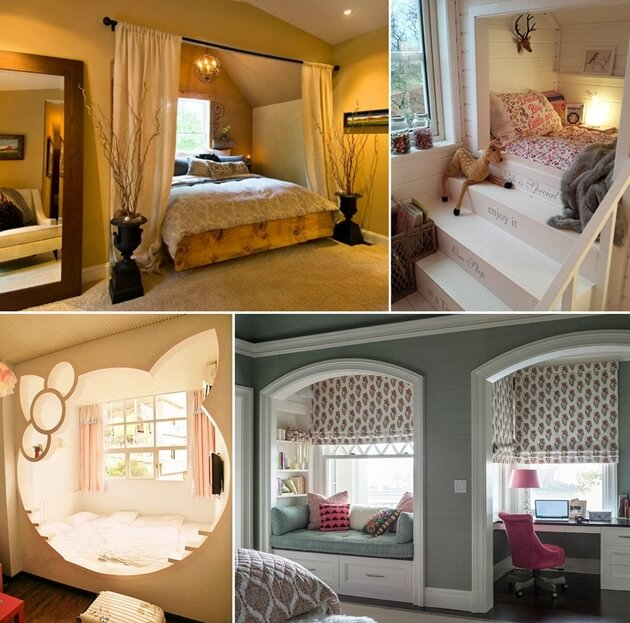 22 Wonderful Alcove Bed Designs For Your Home