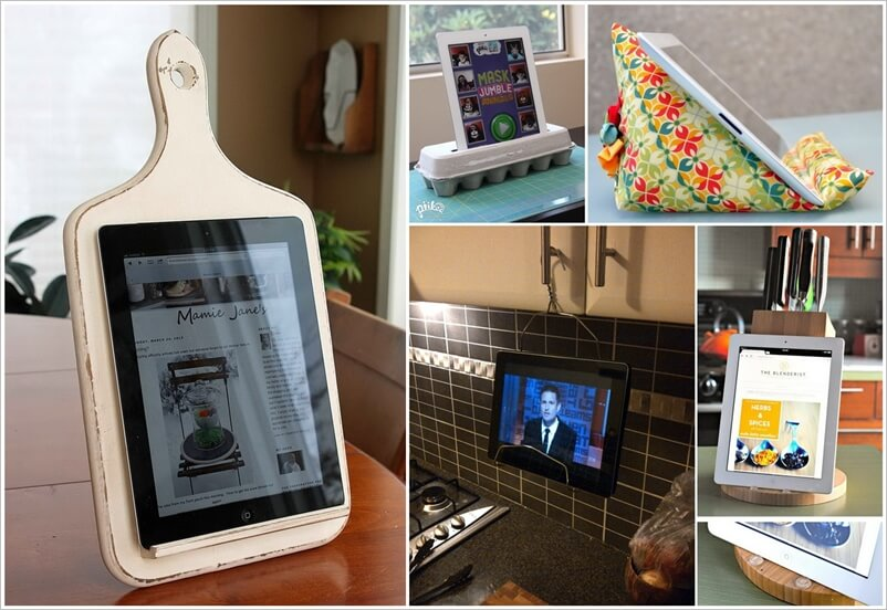 25 iPad Stand Ideas That Are Simply Ingenious 1