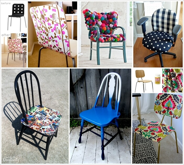 31 Creatively Superb Chair Makeover Ideas