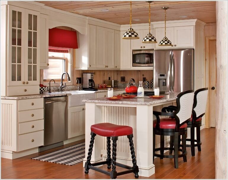 beautiful Ways To Decorate Your Kitchen #5: 7 Ways to Decorate Your Kitchen with Checkered Pattern 1