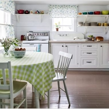 7 Ways to Decorate Your Kitchen with Checkered Pattern 2