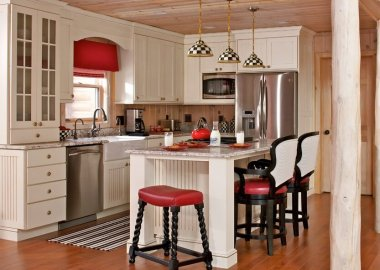 7 Ways to Decorate Your Kitchen with Checkered Pattern fi