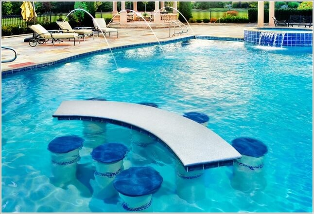 Add a Cozy Seating Area to Your Swimming Pool 1