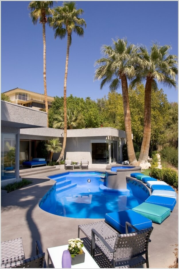 Add a Cozy Seating Area to Your Swimming Pool 10