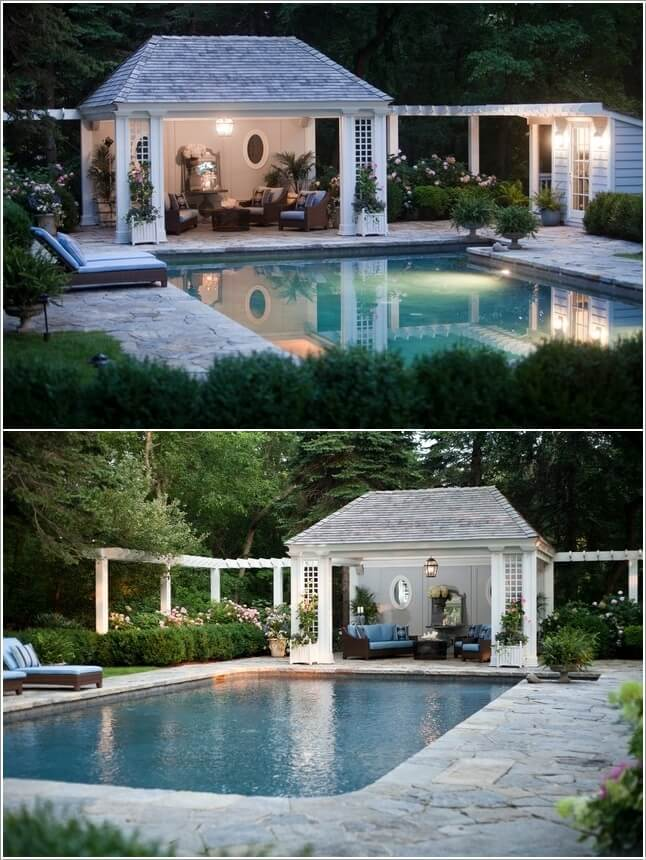 Add a Cozy Seating Area to Your Swimming Pool 2
