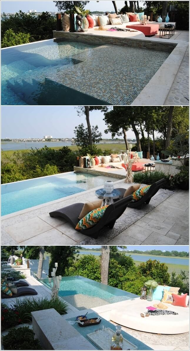 Add a Cozy Seating Area to Your Swimming Pool 3