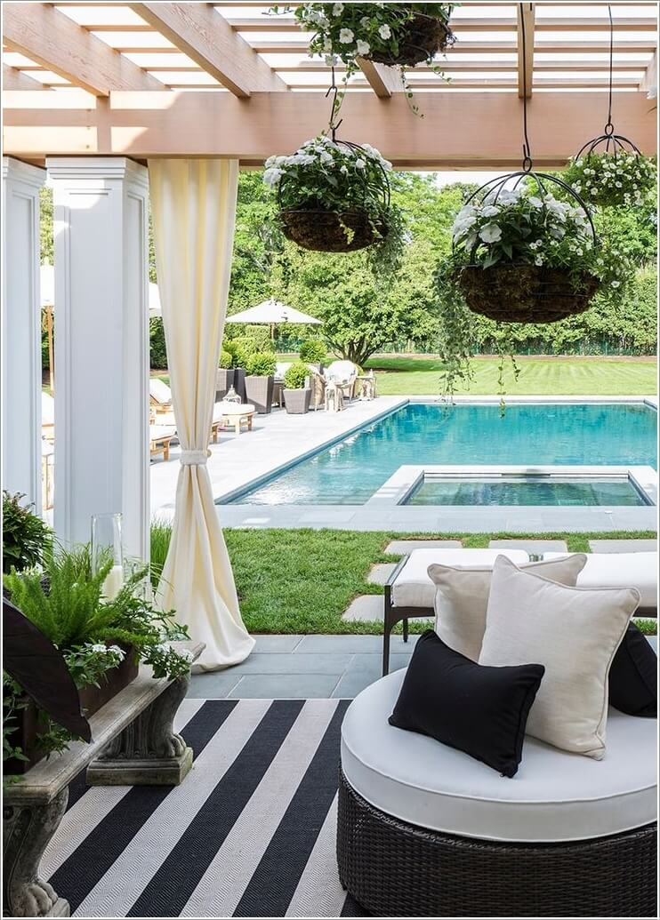 Add a Cozy Seating Area to Your Swimming Pool 6