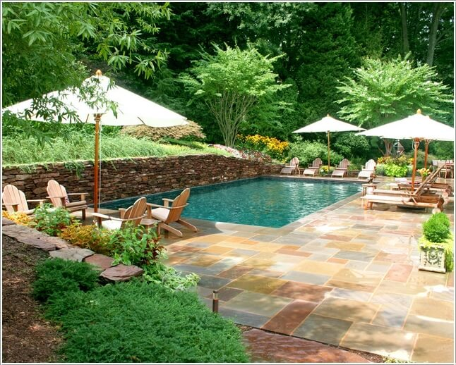 Add a Cozy Seating Area to Your Swimming Pool 7