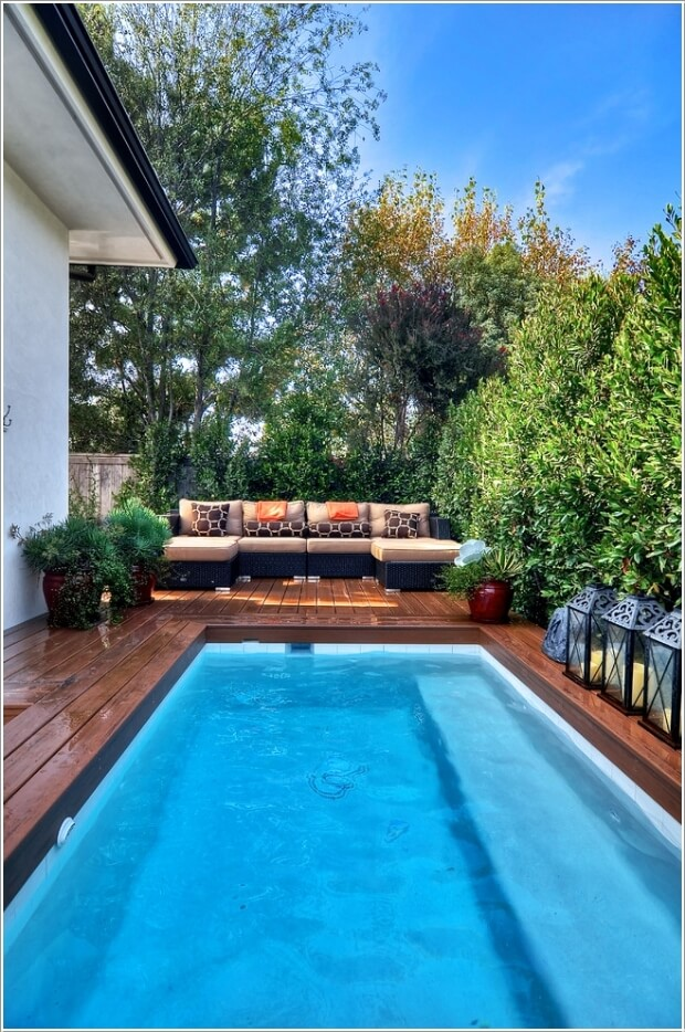 Add a Cozy Seating Area to Your Swimming Pool 8