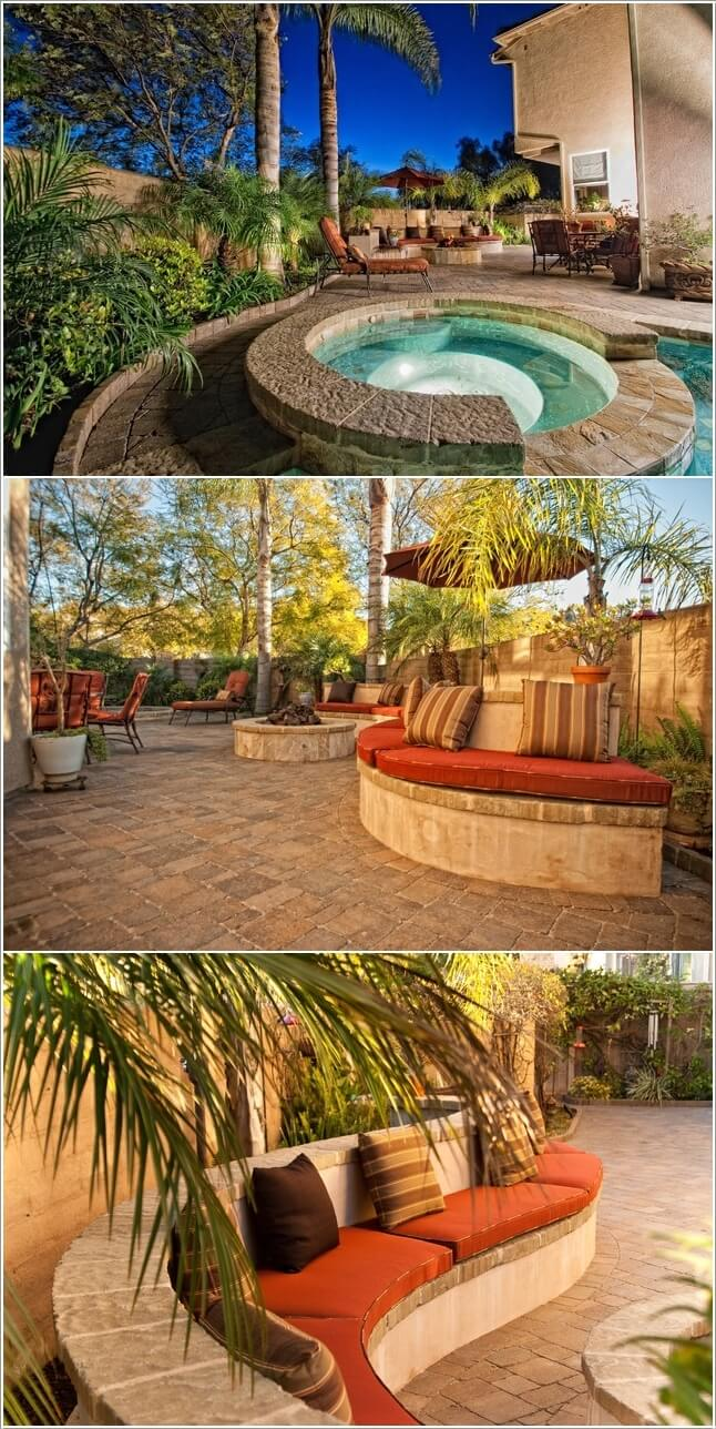 Add A Cozy Seating Area To Your Swimming Pool