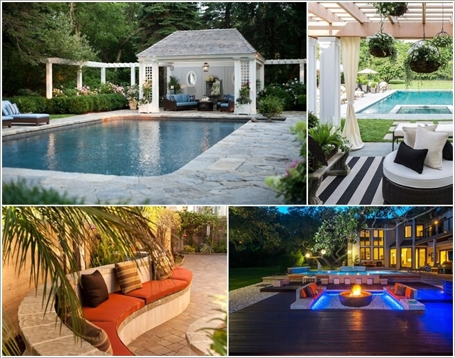Add a Cozy Seating Area to Your Swimming Pool a