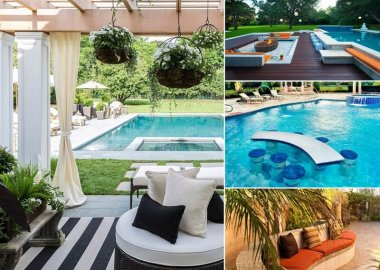 Add a Cozy Seating Area to Your Swimming Pool fi