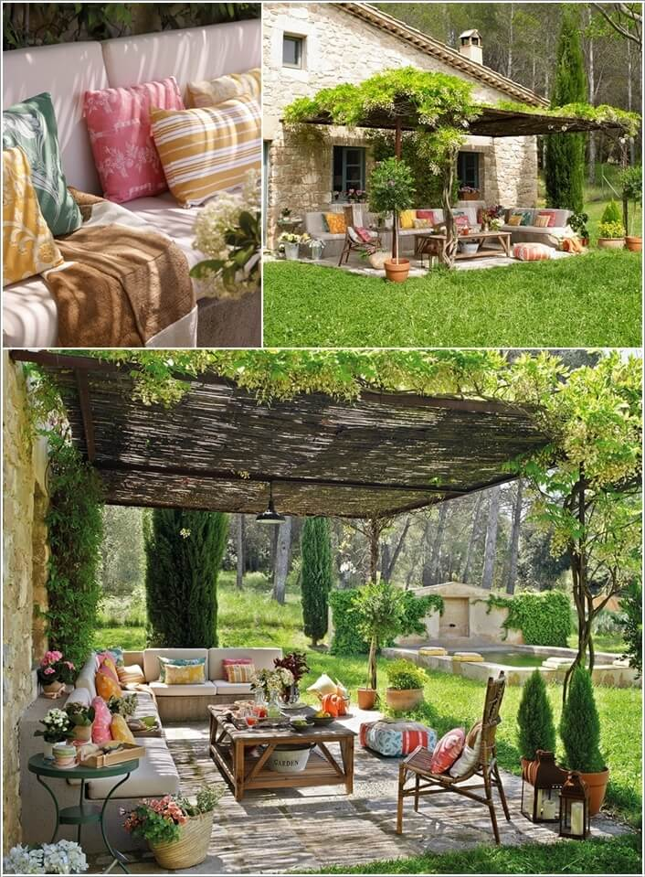 Add a Punch of Color to Your Patio and Make It Lively 1