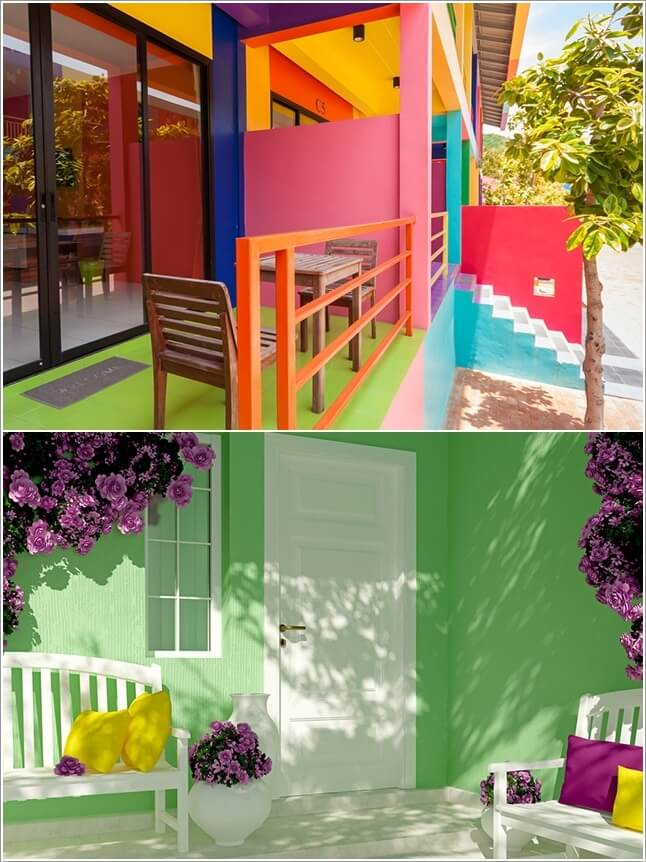 Add a Punch of Color to Your Patio and Make It Lively 10