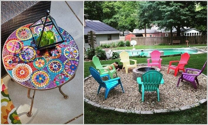 Add a Punch of Color to Your Patio and Make It Lively 2