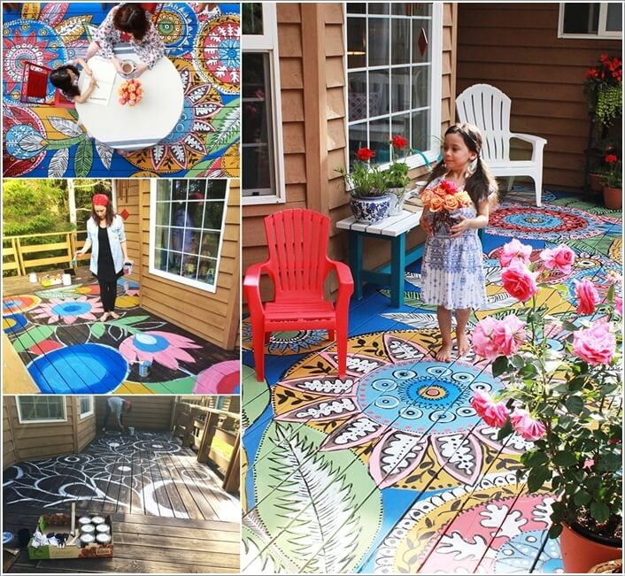 Add a Punch of Color to Your Patio and Make It Lively 4