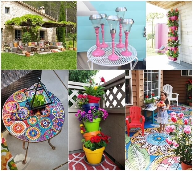 Add a Punch of Color to Your Patio and Make It Lively a
