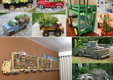 Cool Truck and Tractor Inspired Home Decor Projects fi