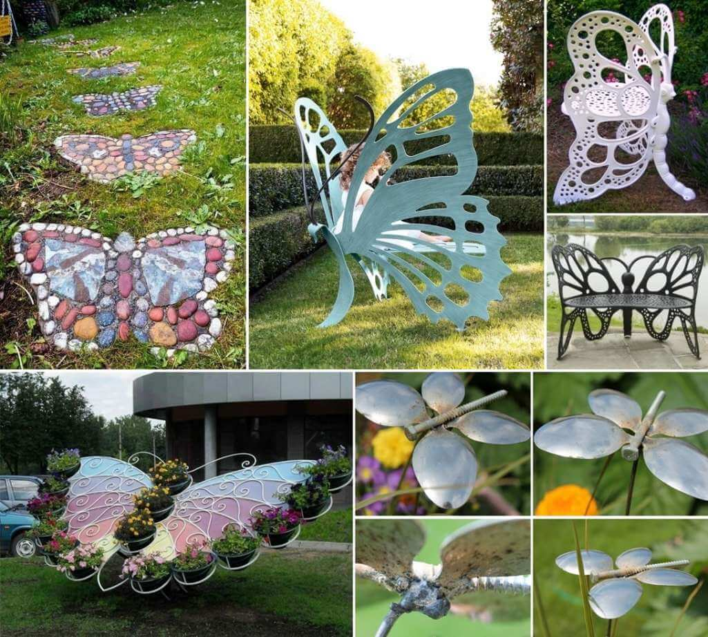 10 Adorable Butterfly Inspired Garden Decor Ideas