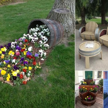 Interior design diy ideas home decor 10 amazing wine barrel projects for your garden workwithnaturefo