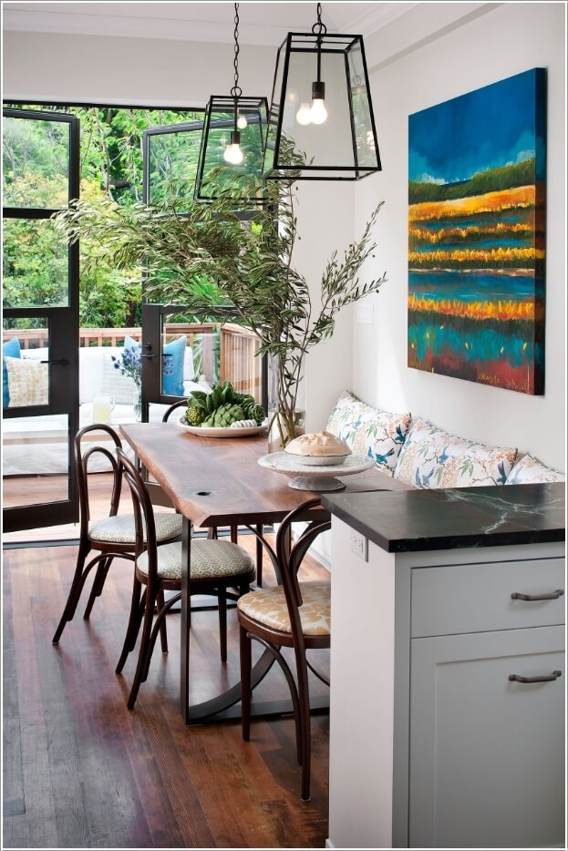 10 Cool And Clever Breakfast Nook Storage Ideas