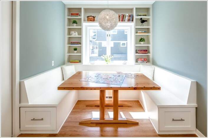 Beau 10 Cool And Clever Breakfast Nook Storage Ideas